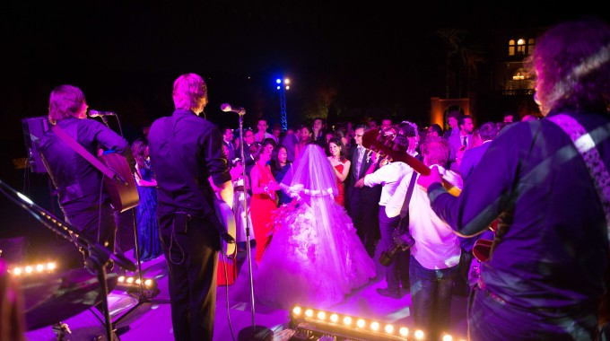 Number one wedding band on the French Riviera